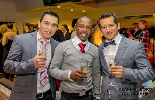 Marcos Robaldo, Francis Waweru og Rafael De Oliveira. Foto: Burt Seeger / US Photo.