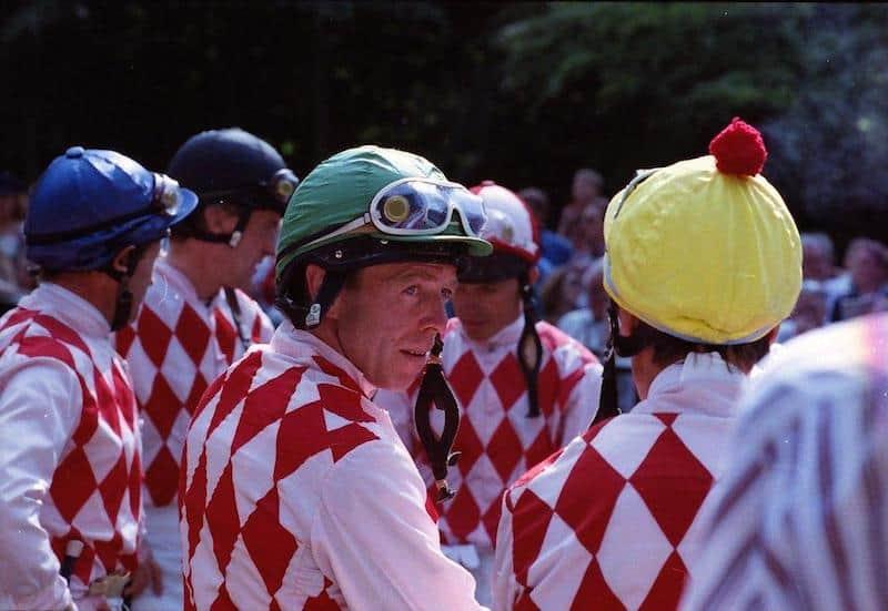 Bechmann Racing-farverne under storhedstiden i 90'erne. Foto: Burt Seeger.