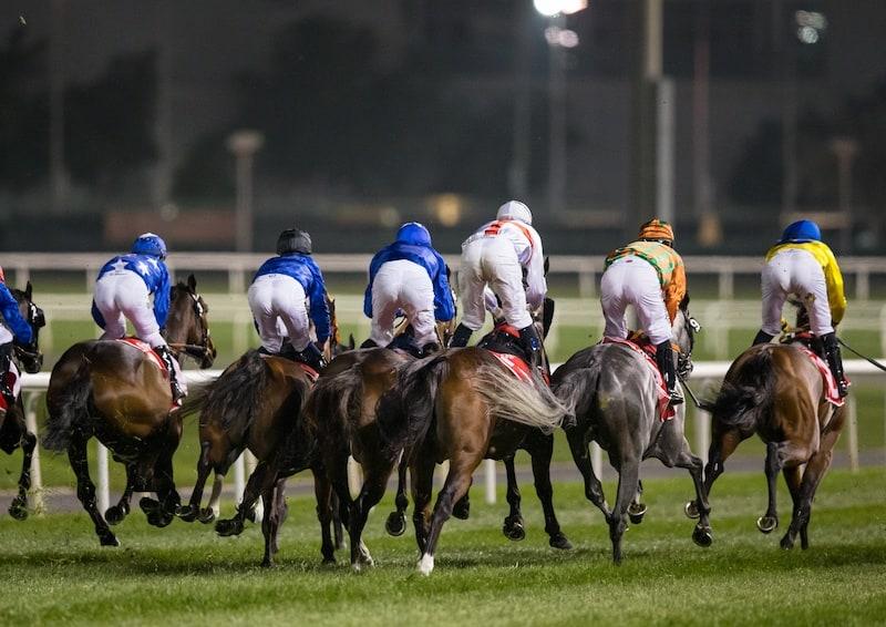 Starten er gået til Dubai City Of Gold (Gr.2). Foto/Copyright: Erika Rasmussen.