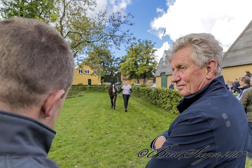 Wido Neuroth på sidste års Scandinavian Open Yearling Sale. Foto: Burt Seeger.